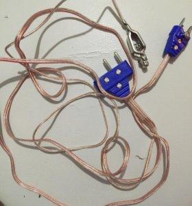 Электрический шнур для рапиры