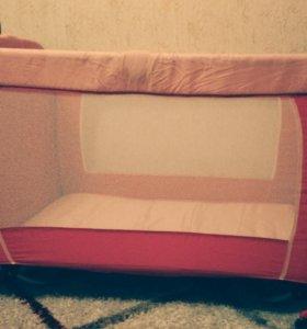 Детский манеж (кроватка) 0+