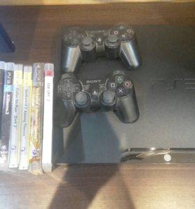 Sony PlayStation 3, память 320гб