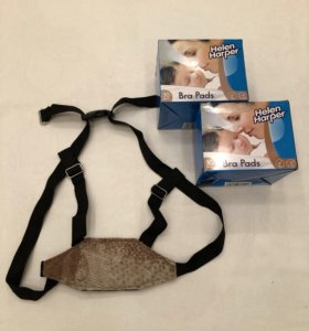 Прокладки для груди (2 коробки) + ходунки-шлейка