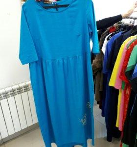 Платья лен