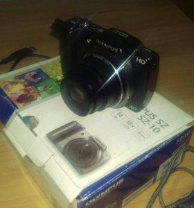 Фотоаппарат Olympus SZ-10 Silver