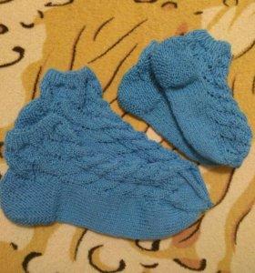 📢 Носки и следочки вязаные🎁