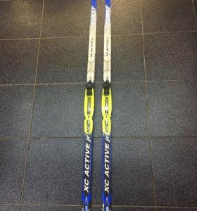Лыжи беговые детские 150 см