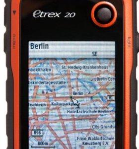 Garmin eTrex 20 туристич-й навиг-р новый гарантия