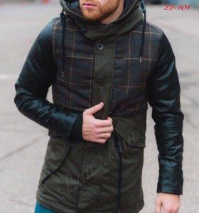 Модная зимняя Куртка парка