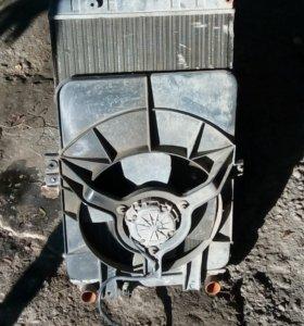 Радиатор с вентилятором на 2110