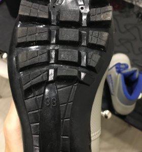 Лыжные ботинки, р33