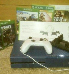 Xbox One (1 Тб) + игры и подписка Live Gold