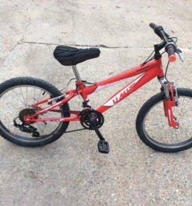 Велосипед детский на 4-8 лет, 10 скоростной