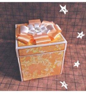 Открытки и волшебные коробочки на заказ