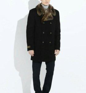 Пальто новое с мехом енота Обмен или продажа