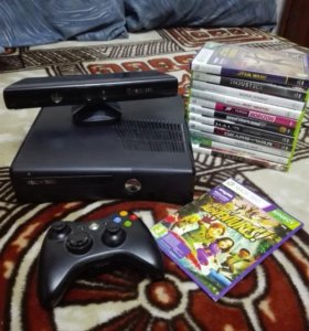 Xbox 360 Slim 4gb + Kinect