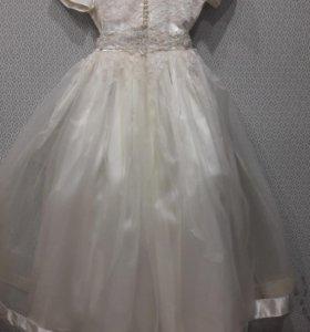 Новогоднее платье на девочку