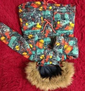 Куртка зимняя + полукомбинезон