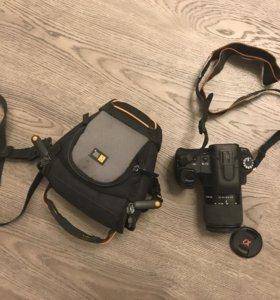 Зеркальный фотоаппарат Sony a200