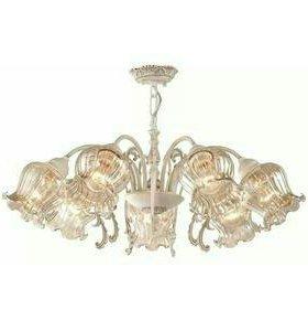Новая люстра на 7 ламп слоновая кость