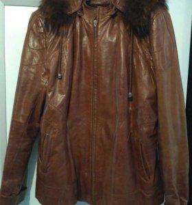 Куртка, натуральная кожа р-52