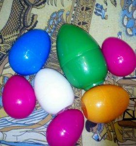 От шоколадных яиц