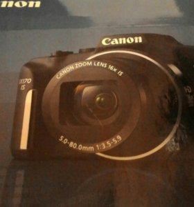 Фотоаппарат Canon sx 170ls