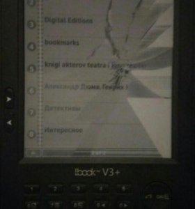 Электронная книга LBook V3+