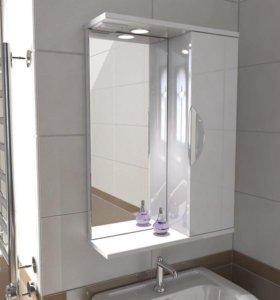 Навесное зеркало со шкафчиком от Эмми-мебель
