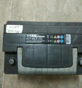 Аккумулятор 66А 600