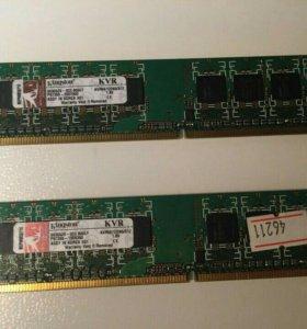 Оперативная память DDR2 512MB