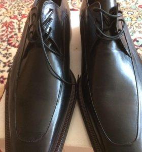 Туфли новые Италии мужские размеры 44.5 43.5