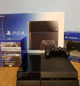 PlayStation 4 500 гб