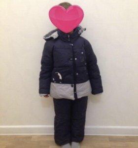 Пуховик: куртка и полукомбинезон