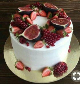 Принимаю заказы на торты и другие десерты
