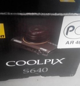 Фотоаппарат Nikon Coolpix S640