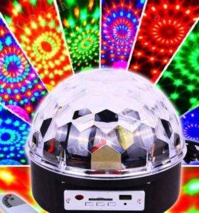 светодидодный диско шар