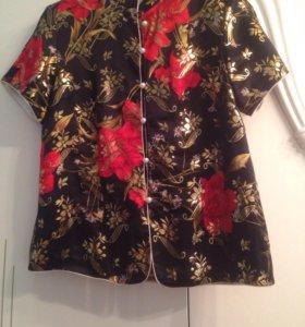 Блуза шелк натуральный