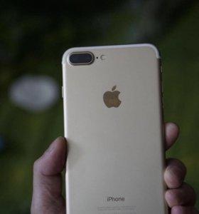 iPhone 7 Plus (Gold) 128 Gb (обмен не предлагать)