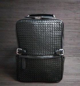 Рюкзак мужской кожаный новый