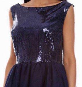 Платье с пайетками (befree)