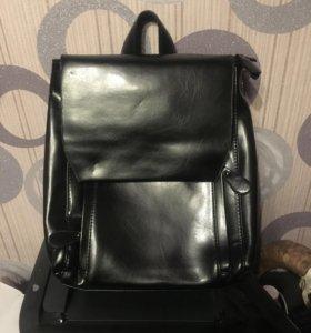 Рюкзак натуральная кожа новый