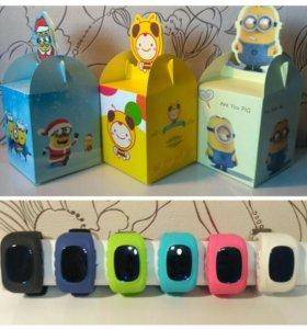 Детские GPS часы Q-50 в подарочной коробочке