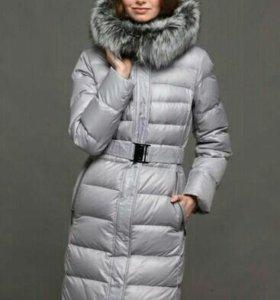 Новый пуховик пальто зимнее 44 46