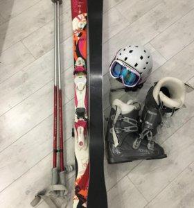Горные лыжи комплект