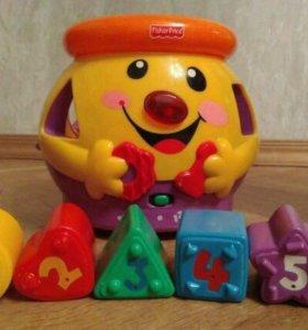Горшок музыкальный Fisher Price прокат игрушек