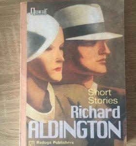 Книга сборник рассказов, Р.Олдингтон,на англ