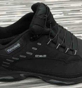 Ботинки Salomon (Новые, натуральный мех)