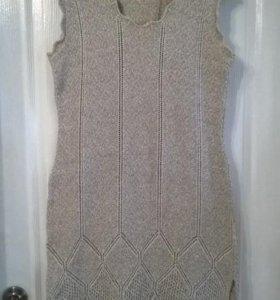Новый костюм платье + накидка р-р 46-48