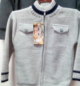 свитер на молнии