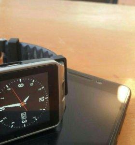 Смартфон ZTE( умные часы в подарок)
