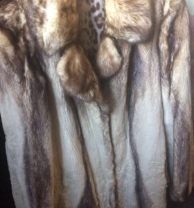 Норковая шуба женская