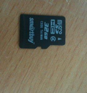 Micro CD для телефона на 32 гига